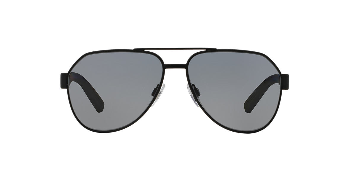 DOLCE & GABBANA Black DG2149 Grey polarised lenses 61mm