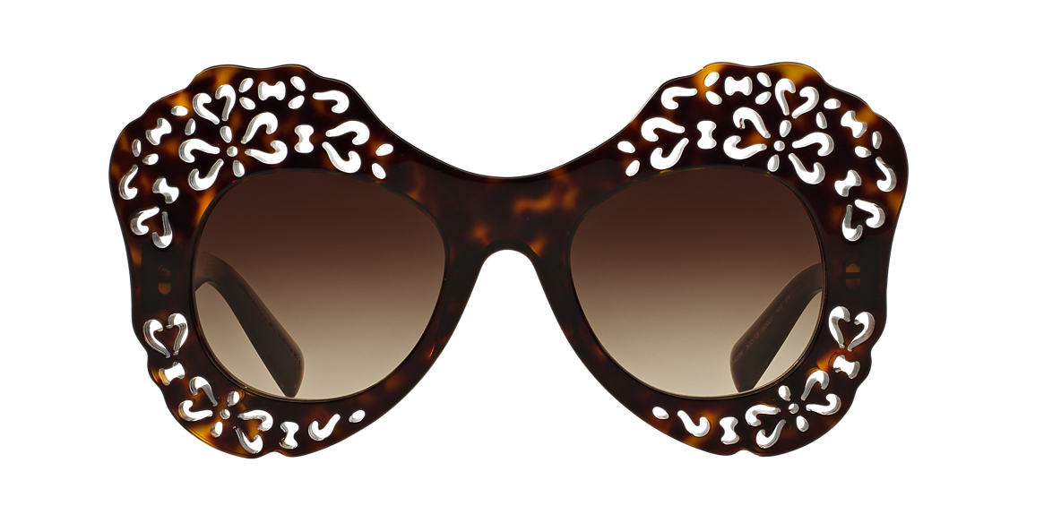DOLCE and GABBANA Tortoise DG4256 50 Brown lenses 50mm