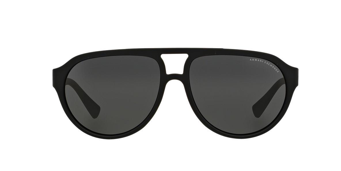 ARMANI EXCHANGE Black AX4042S Grey lenses 59mm