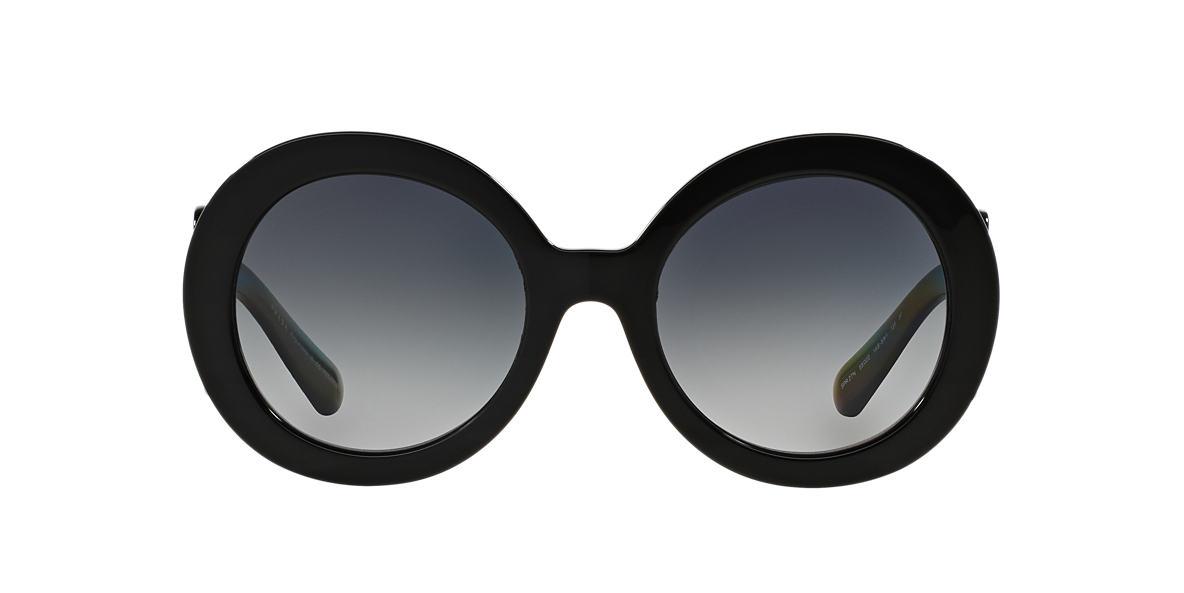 PRADA Black PR 27NS Grey polarized lenses 55mm