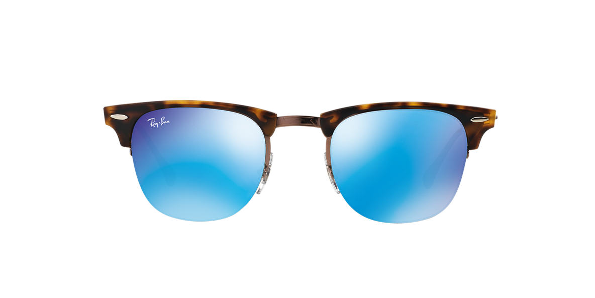 RAY-BAN Tortoise RB8056 49 LIGHT RAY Blue lenses 49mm