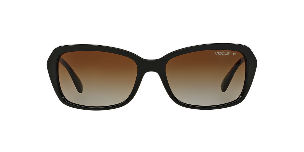 VOGUE LINE Black VO2964SB 55 Brown polarized lenses 55mm