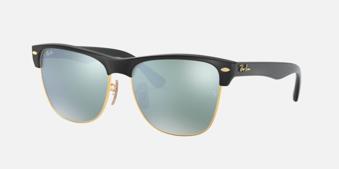Ray Ban Clubmaster Silver And Black