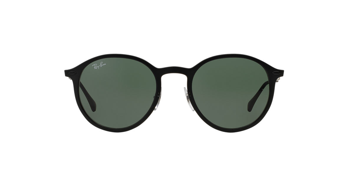 RAY-BAN Black Matte RB4224 49 Green lenses 49mm