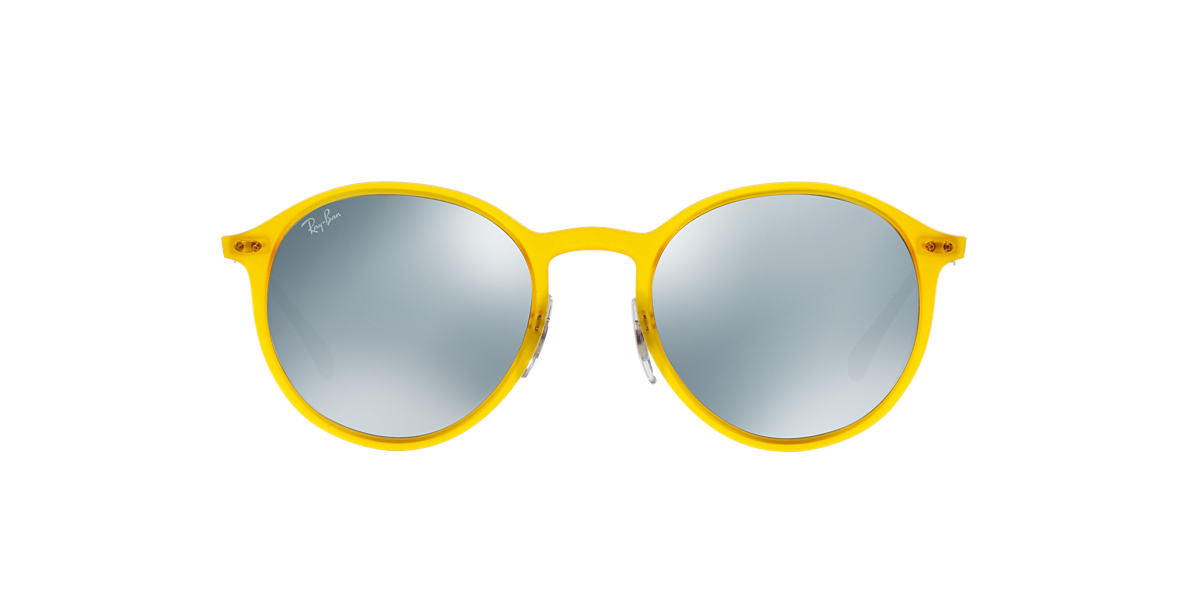 RAY-BAN Yellow RB4224 49 Green lenses 49mm