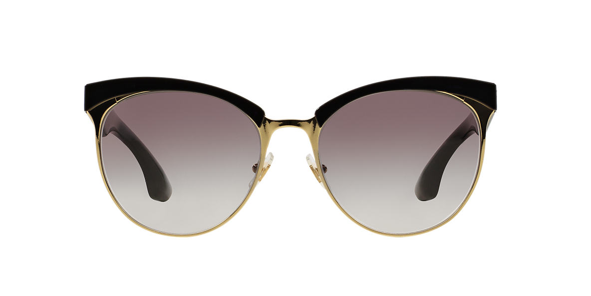 MIU MIU Black MU 54QS 56 stardust Grey lenses 56mm