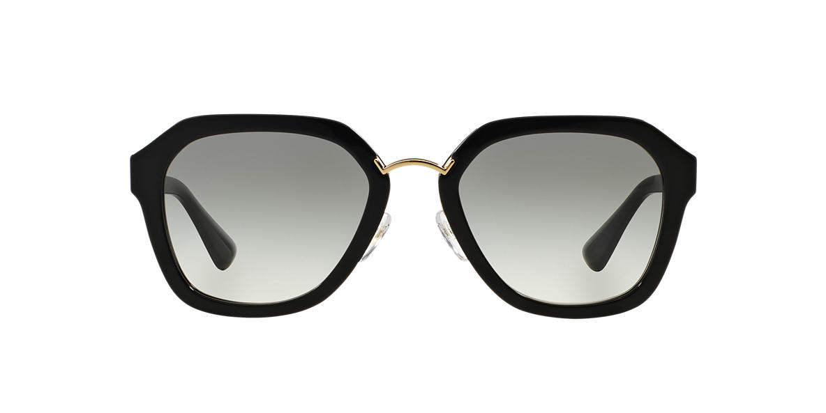 PRADA Black PR 25RS 55 Grey lenses 55mm