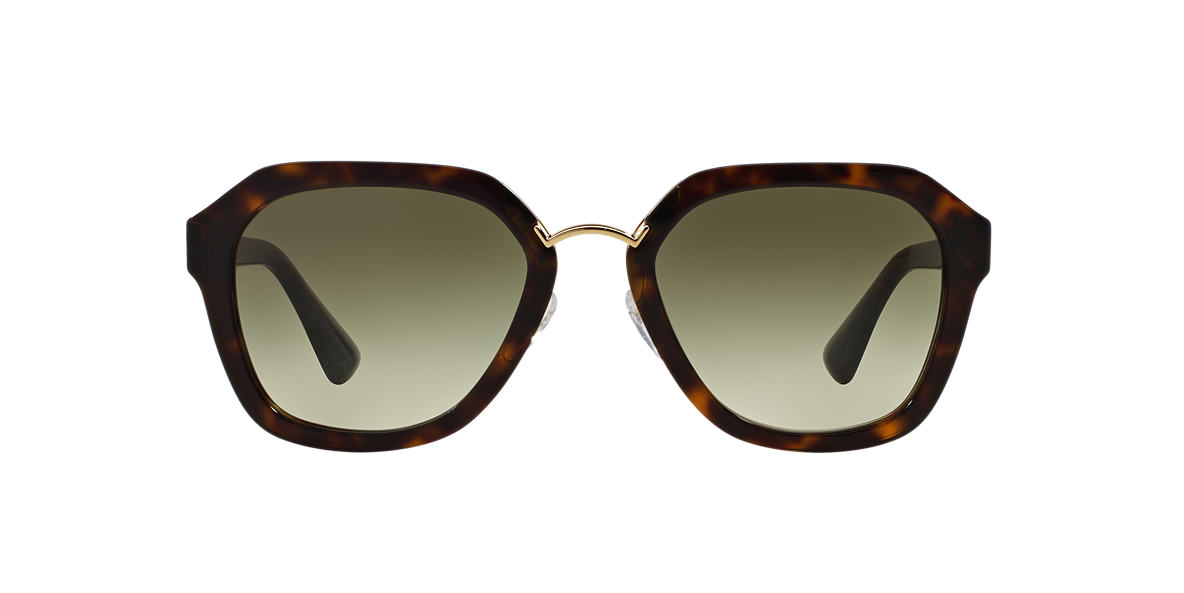 PRADA Brown PR 25RS 55 Green lenses 55mm