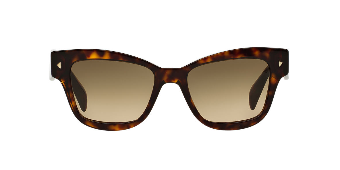 PRADA Tortoise PR 29RS 51 Brown lenses 51mm
