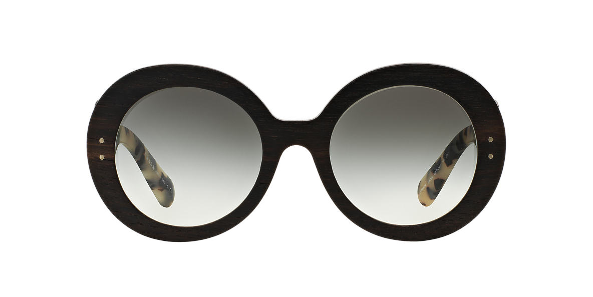 PRADA Black PR 27RS 55 BAROQUE Grey lenses 55mm