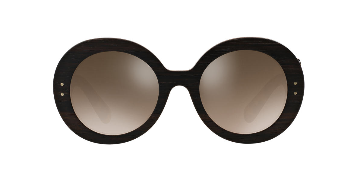 PRADA Brown PR 27RS 55 BAROQUE Grey lenses 55mm
