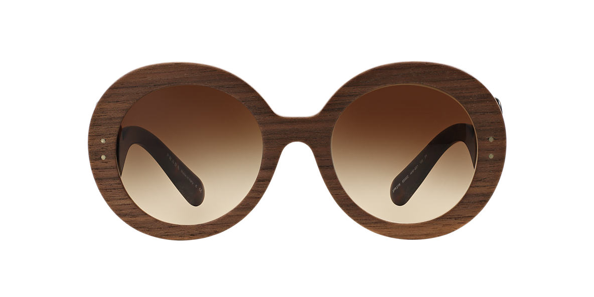 PRADA Brown PR 27RS 55 BAROQUE Brown lenses 55mm