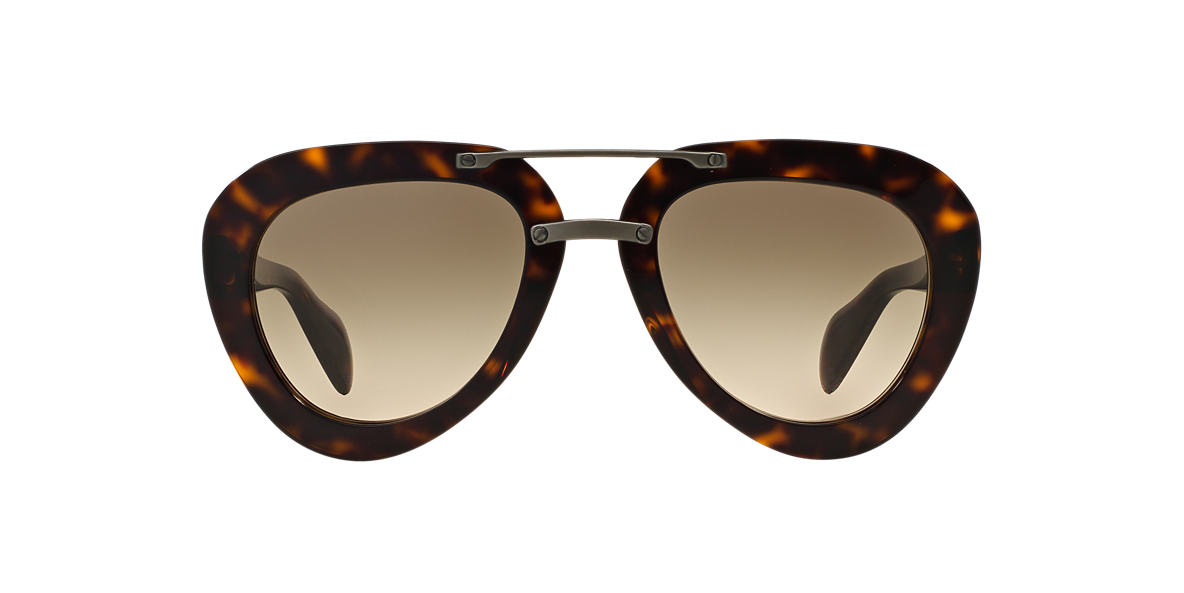 PRADA Tortoise PR 28RS 52 Brown lenses 52mm