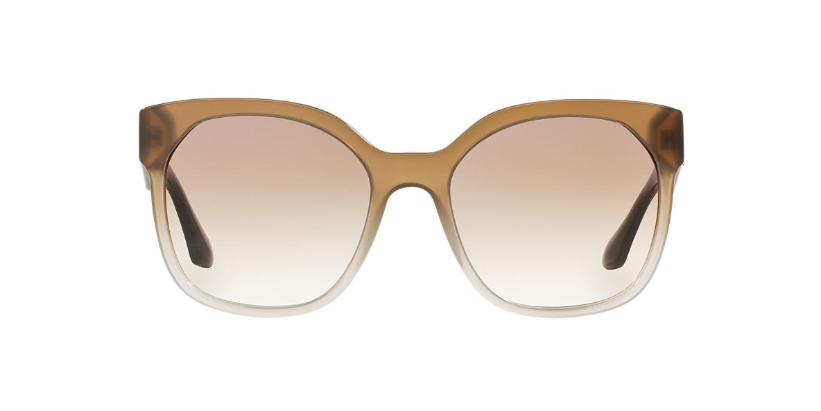 PRADA Grey PR 10RS 57 VOICE Brown lenses 57mm
