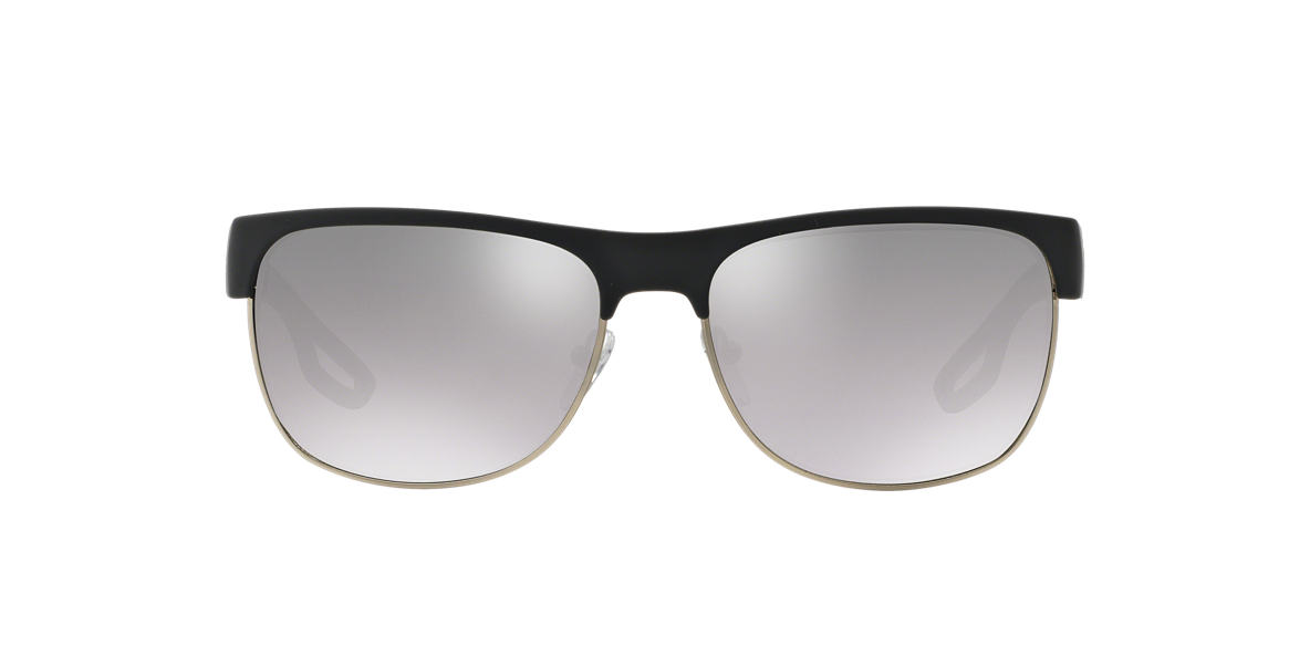PRADA LINEA ROSSA Silver PS 57QS Grey lenses 58mm