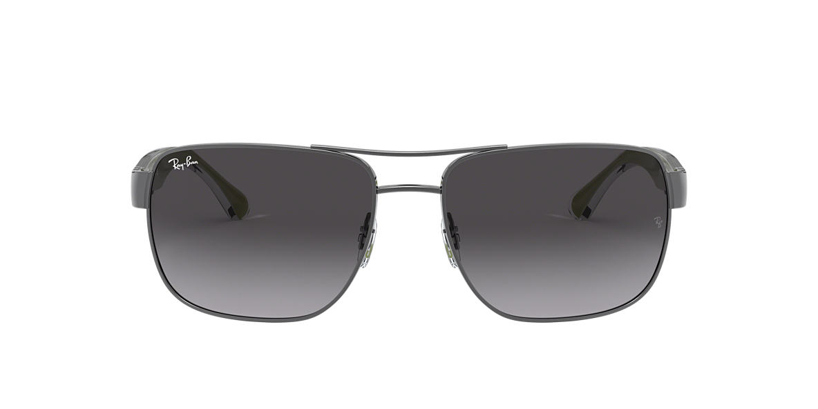 RAY-BAN Silver RB3530 Grey lenses 58mm