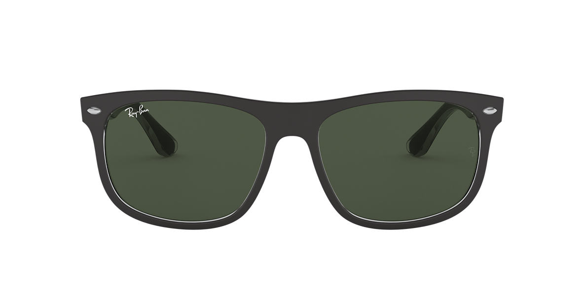 RAY-BAN Black Matte RB4226 56 Green lenses 56mm