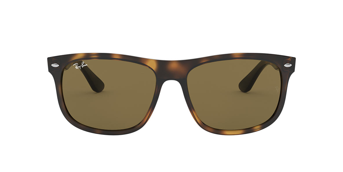 RAY-BAN Tortoise RB4226 56 Brown lenses 56mm
