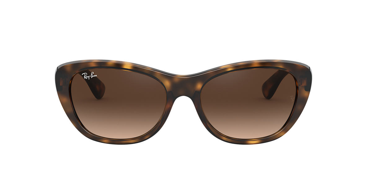 RAY-BAN Tortoise RB4227 55 Brown lenses 55mm