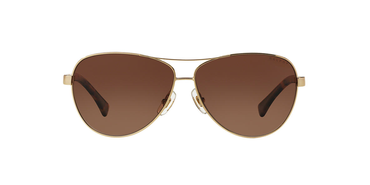 RALPH Gold RA4116 60 Brown polarized lenses 60mm