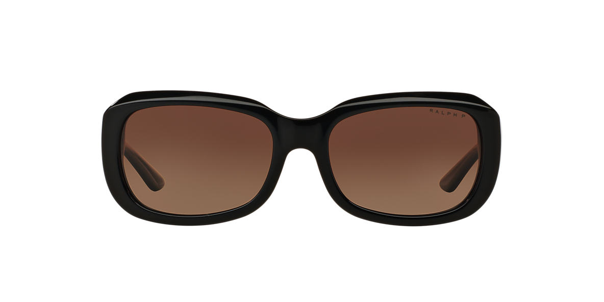 RALPH Black RA5209 Brown polarised lenses 56mm