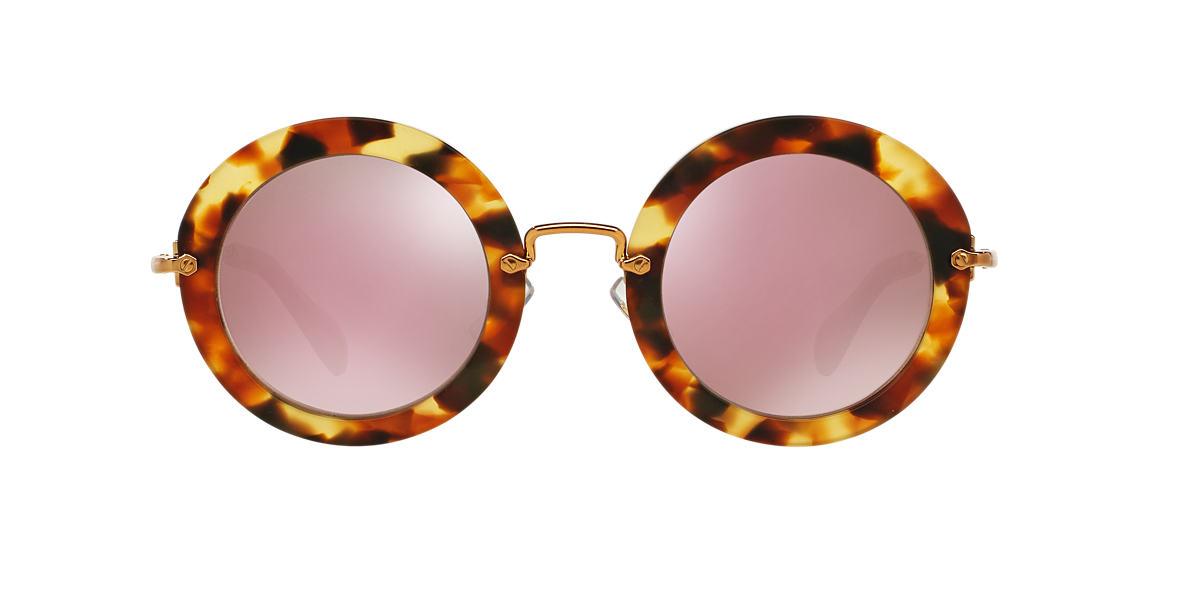 MIU MIU Tortoise MU 13NS Pink lenses 49mm