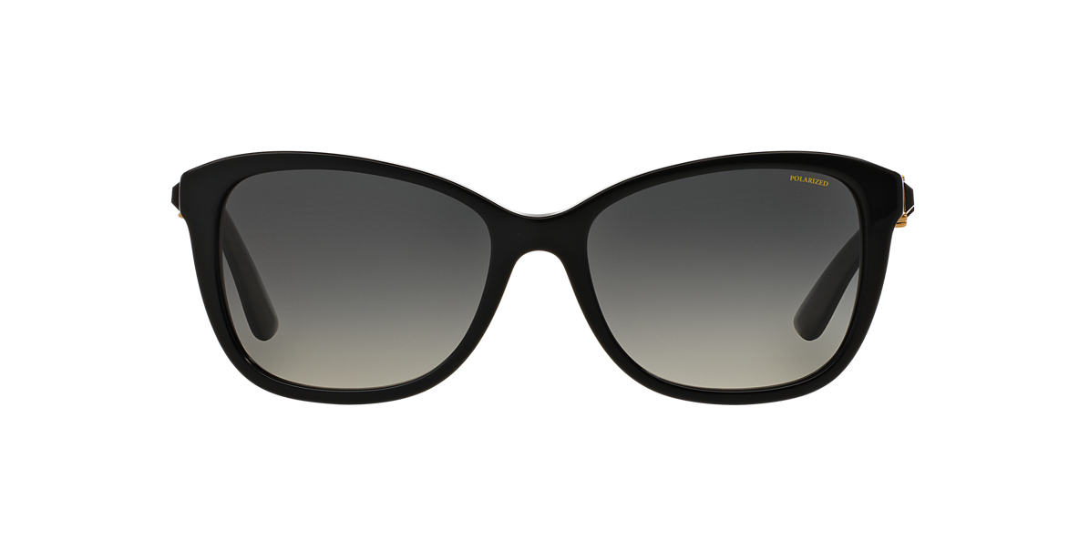 VERSACE Black VE4293B Grey polarised lenses 57mm