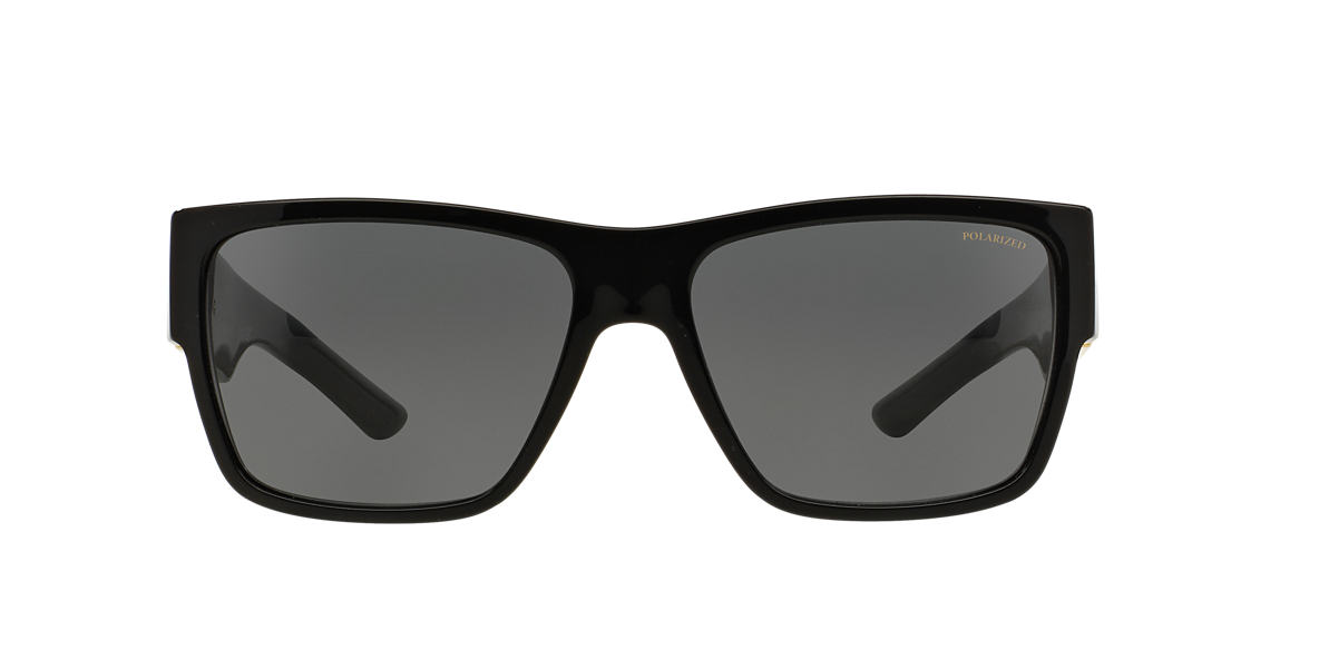 VERSACE Black VE4296 59 Grey polarised lenses 59mm