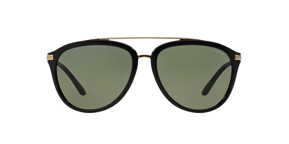 VERSACE Black VE4299 58 Green polarized lenses 58mm