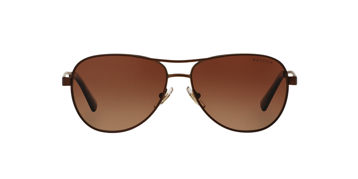 RALPH Brown RA4115 Brown polarised lenses 58mm