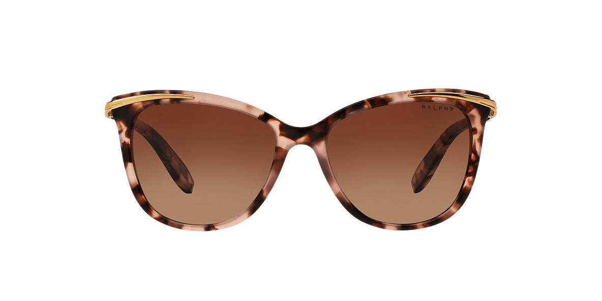 RALPH Pink RA5203 54 Brown polarised lenses 54mm