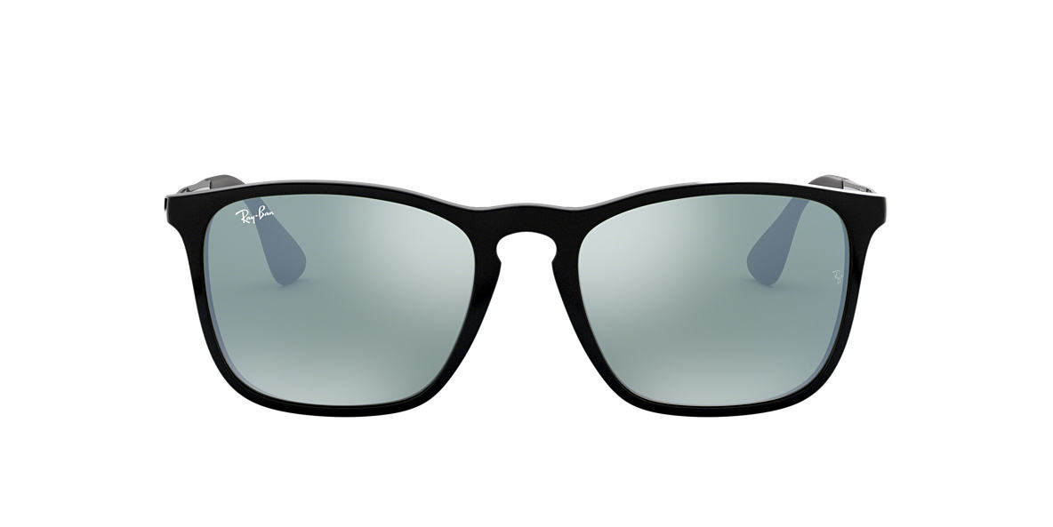 RAY-BAN Black RB4187 54 CHRIS Silver lenses 54mm