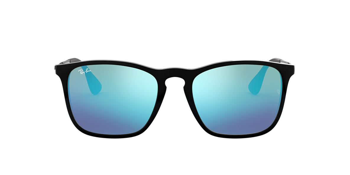 RAY-BAN Black RB4187 Blue lenses 54mm