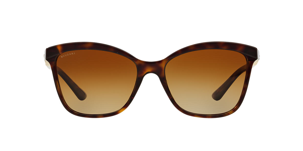 BVLGARI Brown BV8163B Brown polarised lenses 56mm