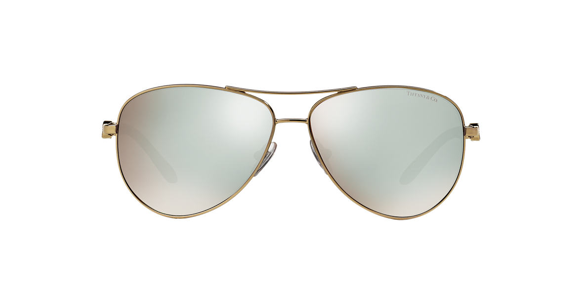 TIFFANY Gold TF3049B 58 Gold lenses 58mm