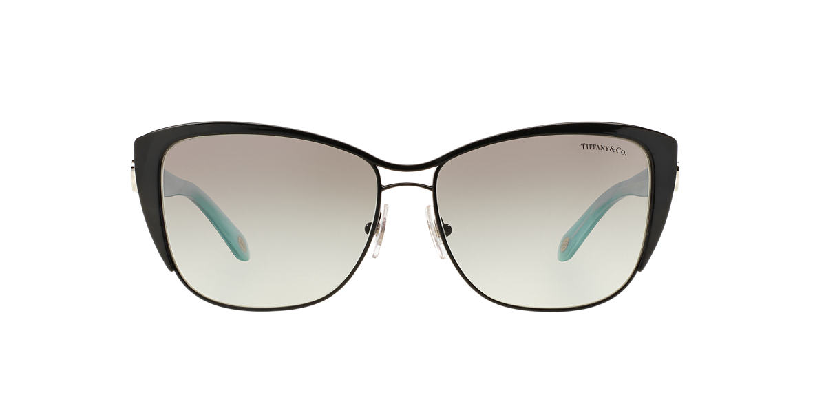 TIFFANY Black TF3050 58 Grey lenses 58mm