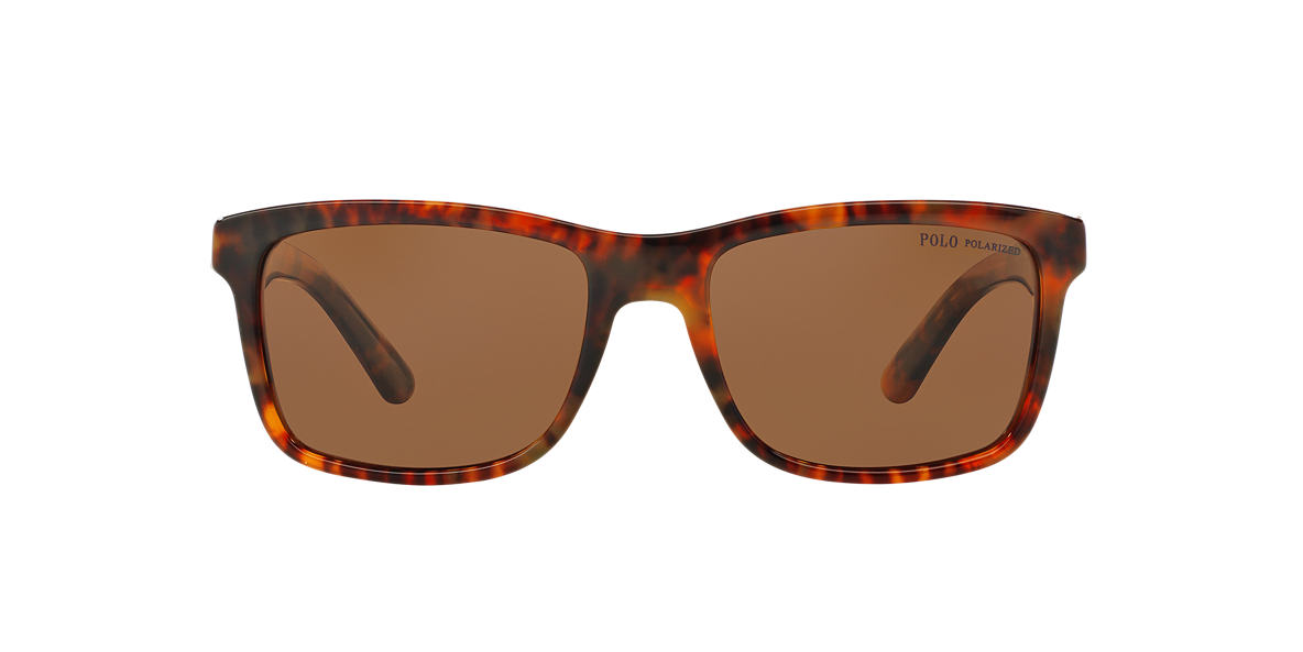 POLO RALPH LAUREN Tortoise PH4098 57 Brown polarized lenses 57mm