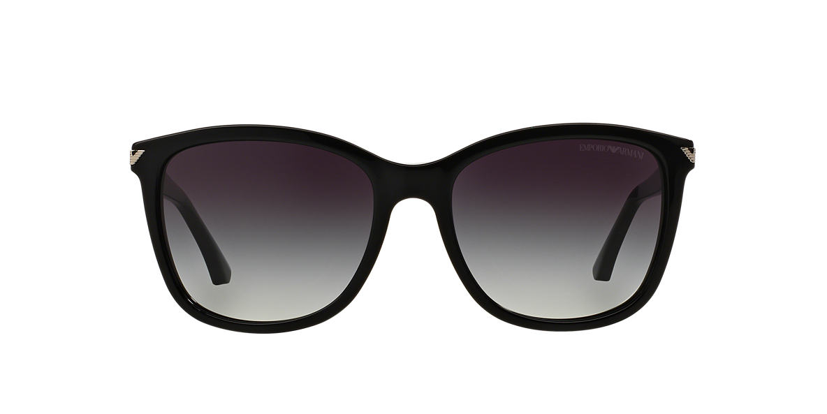 EMPORIO ARMANI Black EA4060 56 Grey lenses 56mm