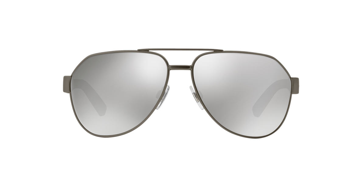DOLCE and GABBANA Grey DG2149 61 Silver lenses 61mm