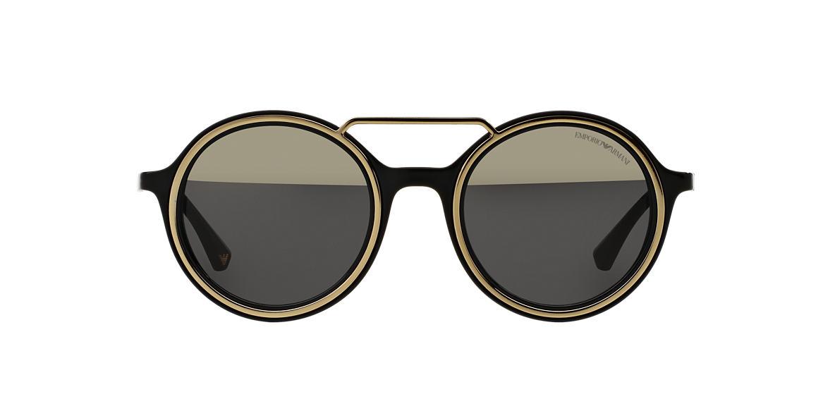 EMPORIO ARMANI Black EA4062 49 Gold lenses 49mm