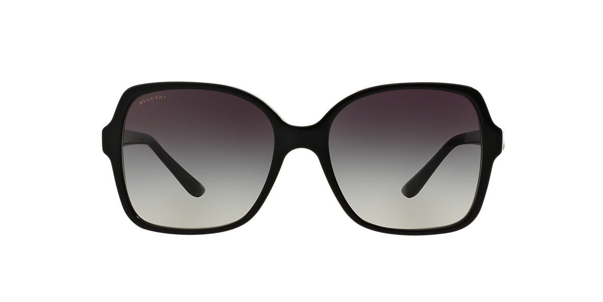 BVLGARI SUN Black BV8164B 56 Grey lenses 56mm