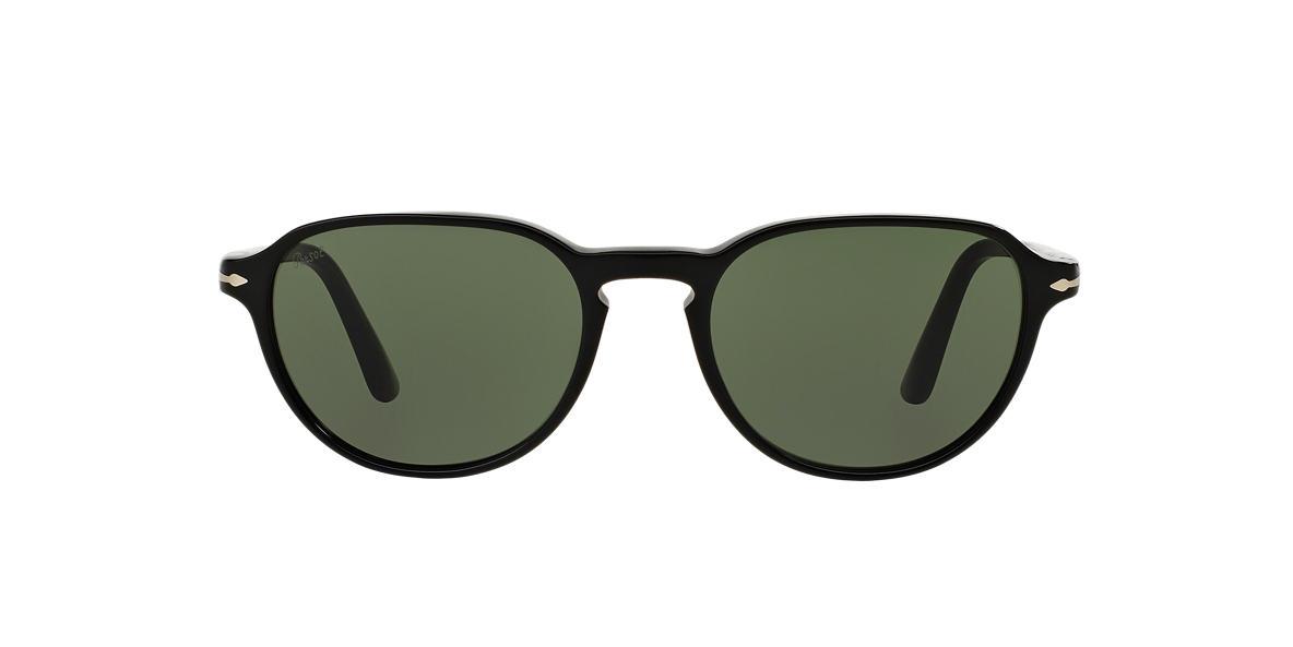 PERSOL Black PO3053S 52 Green lenses 52mm