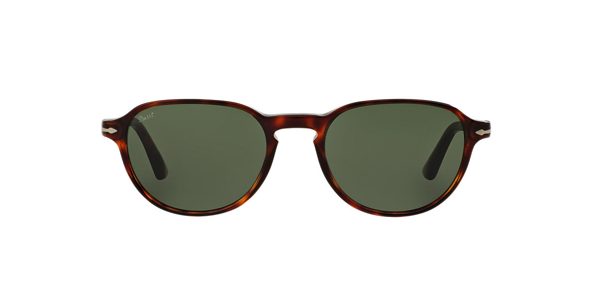 PERSOL Brown PO3053S 52 Green lenses 52mm