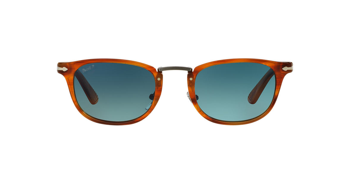 PERSOL Brown PO3127S 52 Blue polarised lenses 52mm