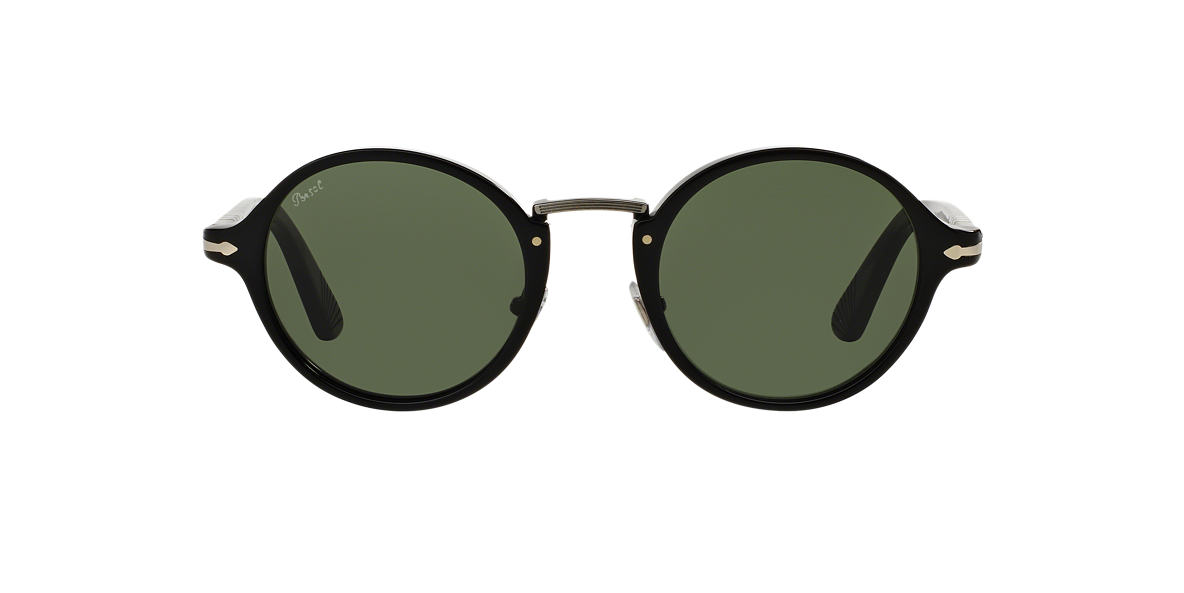 PERSOL Black PO3129S 48 Green lenses 48mm