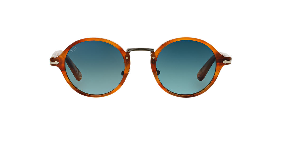 PERSOL Brown PO3129S 48 Blue polarised lenses 48mm