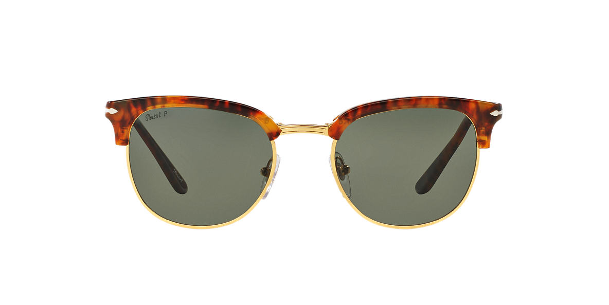 PERSOL Brown PO3132S 51 Green polarised lenses 51mm