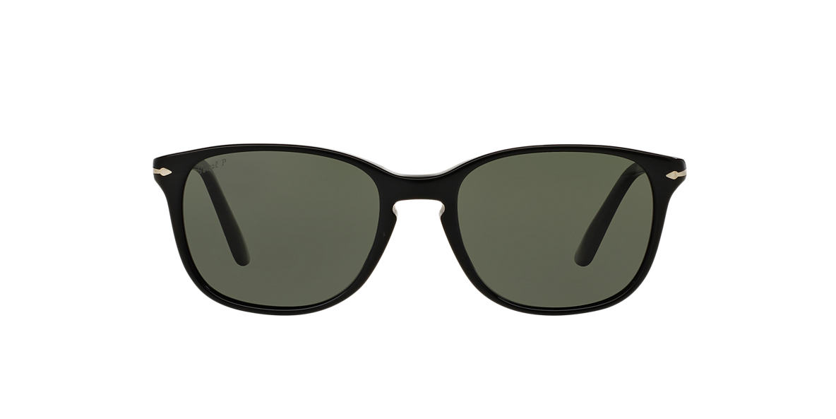 PERSOL Black PO3133S 52 Green polarized lenses 52mm