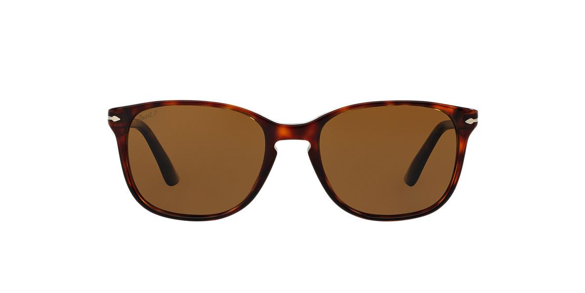PERSOL Tortoise PO3133S 52 Brown polarized lenses 52mm