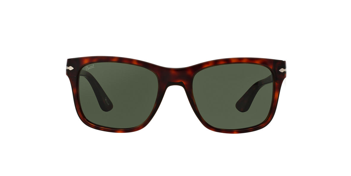 PERSOL Brown PO3135S Green lenses 55mm